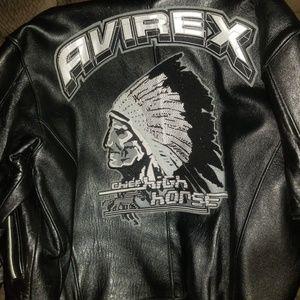 Other - Vintage Avirex xxxl Leather varsity🔥